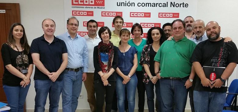 Foto CCOO Orange y CCOO Jazztel