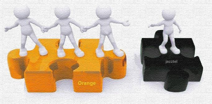 mujer orange es: