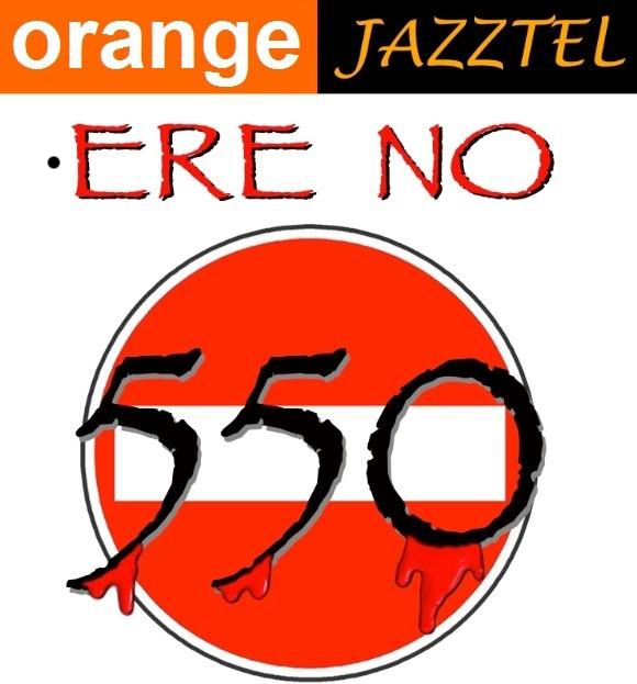 No ERE Orange Jazztel
