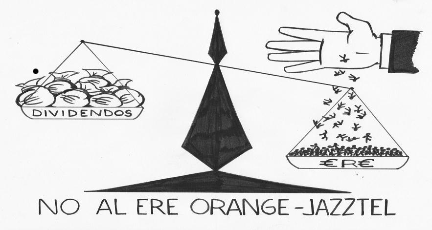 No al ERE Orange